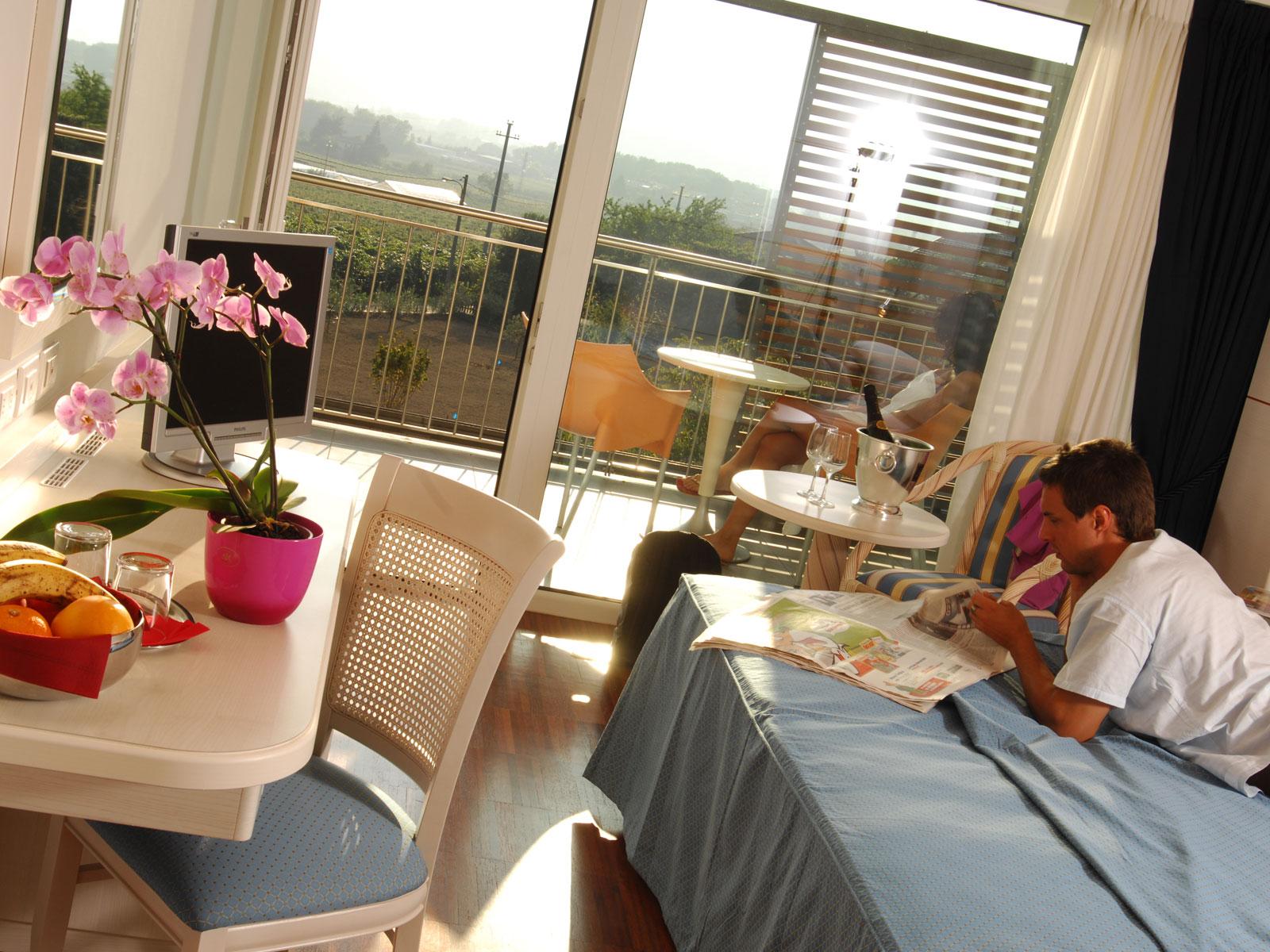 Park Hotel Il Vigneto Garni Arco Gardasee Italien Doppelzimmer